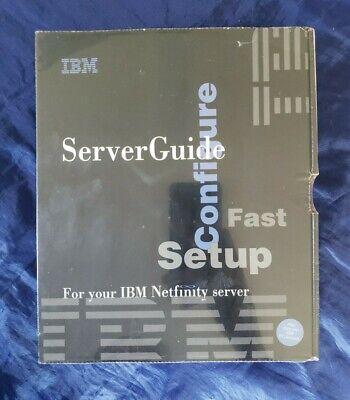 IBM Server Guide 1998 Version 4.0.3 BRAND NEW SEALED Vintage Computer OS/2 Warp
