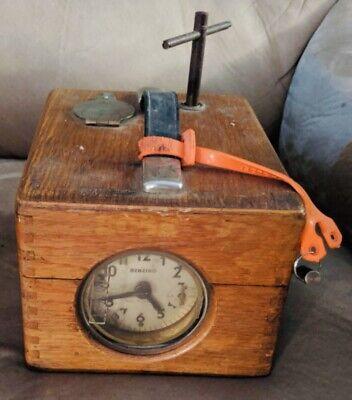 Antique Benzing German Pigeon Pigeon Clock