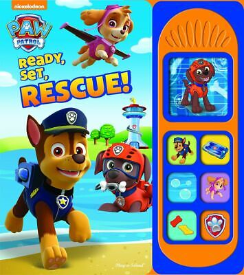Paw Patrol Ready Set Rescue Sound Book by PI