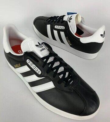 Adidas Originals Gazelle Super Men/'s Sneaker CQ2798 Leather White Shoes Trainers
