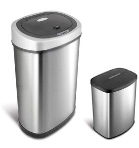 Ninestars Touchless Automatic Sensor Trash Can Combo $100/each