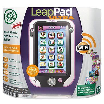 LeapFrog LeapPad Ultra Kids Learning Tablet (Pink)