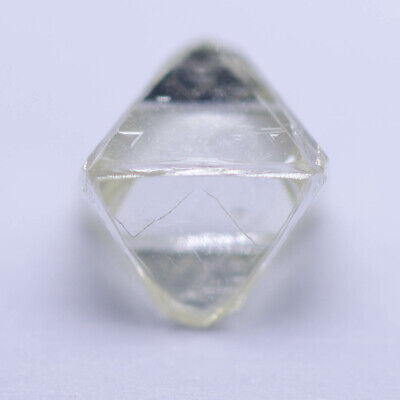 0.65 Carat FANCY YELLOW OCTAHEDRON DIAMOND NATURAL ROUGH UNTREATED