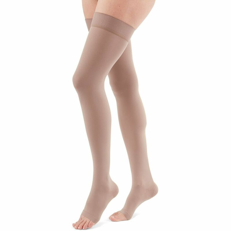 Duomed Advantage 20-30 mmHg OPEN TOE Thigh High
