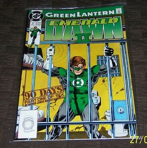 dc comics green lantern emerald ii 1 dc comic book vf nm ebay
