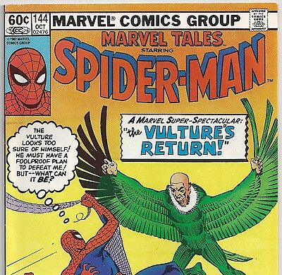 The Amazing Spider-Man #7 Reprint in Marvel Tales #144 from Oct.1982 in VF-