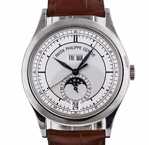 Patek Philippe 5396 Annual Calendar Moon 5396G-001 18kt White Gold Automatic