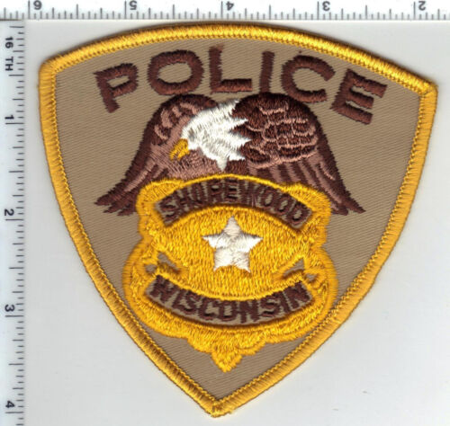 Shorewood Police (Wisconsin) 1st Issue Shoulder Patch