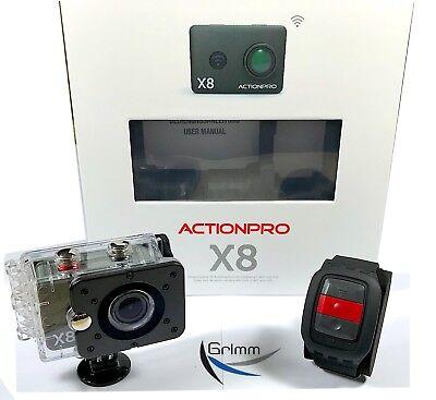 ACTIONPRO X8 - 4K Sport- und Actionkamera ! NEU !