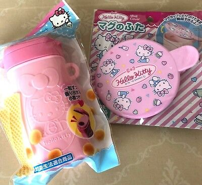 Japan ☆ Hello Kitty cute Snack Case & Mug Cover for your kids!](Hello Kitty Snacks)