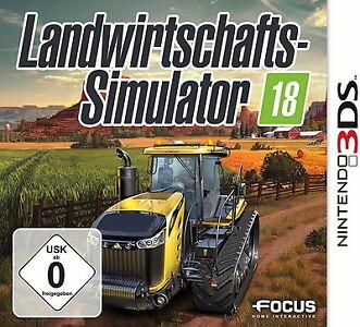 Landwirtschafts-Simulator 18 2018 für Nintendo 3DS