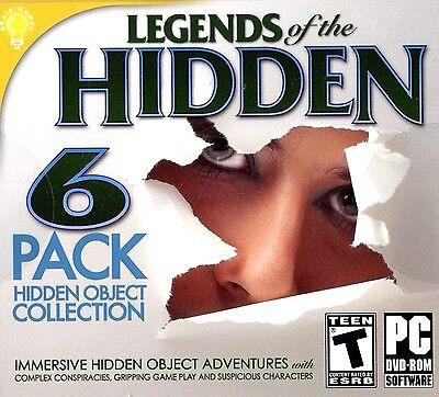 Computer Games - Legends Of The Hidden object PC Games Windows 10 8 7 XP Computer seek find game