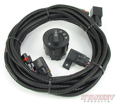 2013-2014 Mustang Fog Light Wiring & Switch Kit - Includes Auto Headlamps Switch
