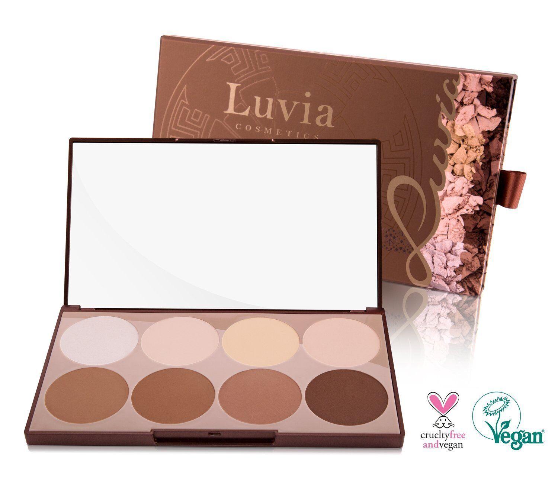 Luvia Cosmetics Contouring Palette - Make-Up Palette - Kontur, Highlighter...