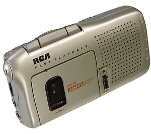 RCA-RP3538-Micro-Cassette-Voice-Activated-2-speed-Mini-Tape-Recorder