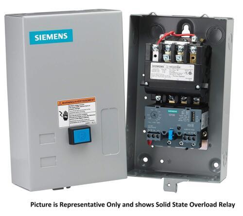 Siemens 14CUD32BC Full Voltage Non-Reversing Heavy Duty Motor Starter, Nema 0