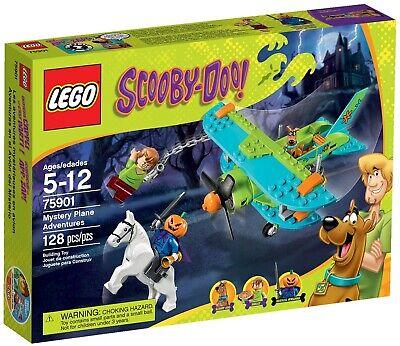 LEGO 75901 Scooby-Doo Mystery Plane Adventures (New/Sealed/FreeShip)
