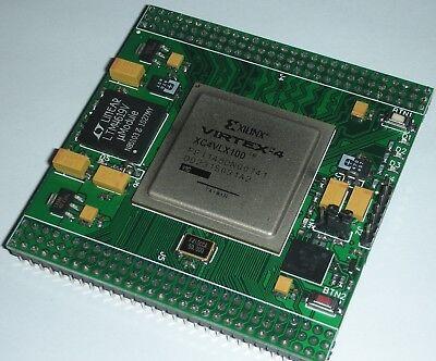 Xmf4 Xilinx Fpga Module. Virtex-4 Xc4vlx100 Development Board