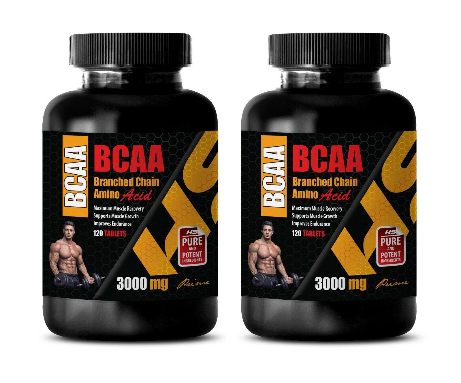 clear muscle - BCAA 3000MG - leucine isoleucine and valine 2 BOTTLE