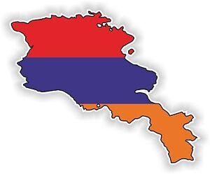1x-STICKER-Armenia-SILHOUETTE-BUMPER-DECAL-MAP-FLAG