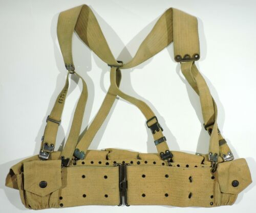 M1903 Cartridge Belt w/ M1903 Combat Suspenders