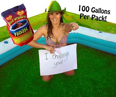 Bulk GREEN Jello Wrestling Supply Jelly Mix! Kit makes 380L. Fill a pool or pit!