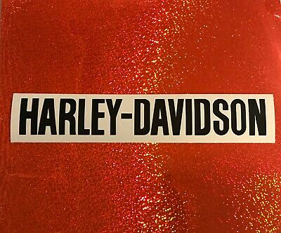 HARLEY DAVIDSON Decal, Motorcycle Custom Decal~ SET of 2 Harley Motorcycle Decals