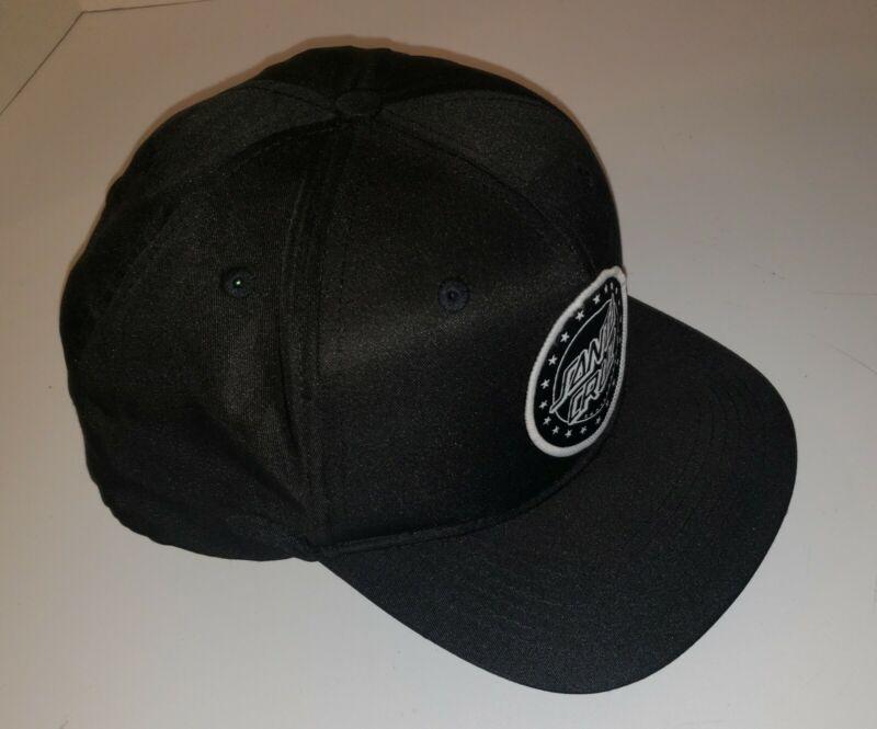 SANTA CRUZ SPANGLE DOT Skateboard Snapback Hat BLACK, Nice