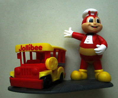 2016 JOLLY PINOY Collectibles **JOLLIBEE** Jeepney TOY MIB sold out retired