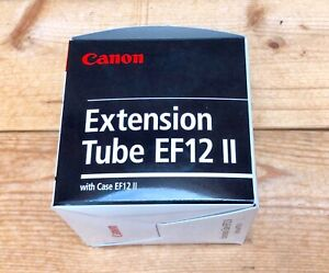 Brand new in box Canon Extension Tube EF12 II
