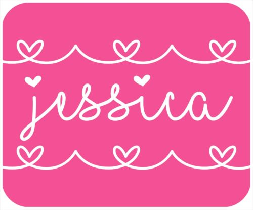 MOUSE PAD CUSTOM, PERSONALIZED THICK MOUSEPAD WITH GIRL