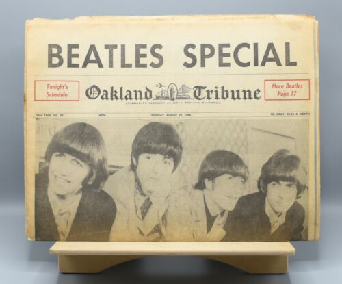 Oakland Tribune Beatles Special | Complete Issue | August 29, 1966