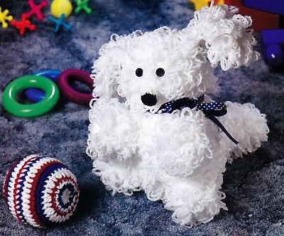 CUTE Lovable Puppy Dog/Toy/Crochet Pattern INSTRUCTIONS ONLY