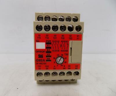 Omron 250vac Safety Relay Unit G9sa-321-t30