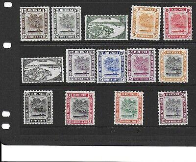 Brunei 1947/51 set mm