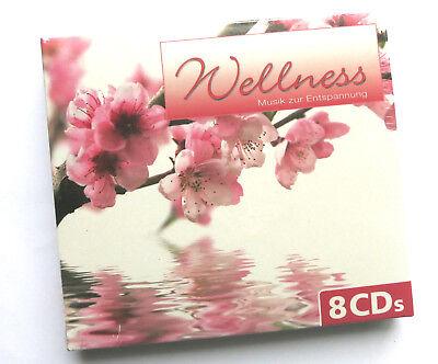 8 CD's Wellness - Musik zur Entspannung - Träumen, genießen, abschalten,