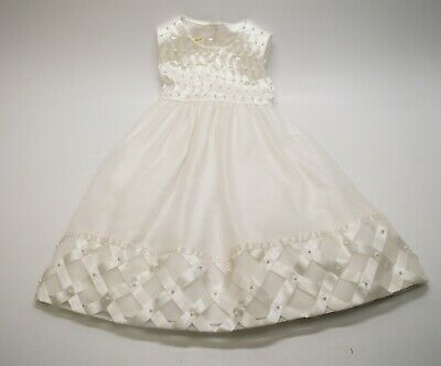 2t Flower Girl Dress (CINDERELLA Pageant/ Party / Flower Girl Dress 2T/2 White Formal Gown)