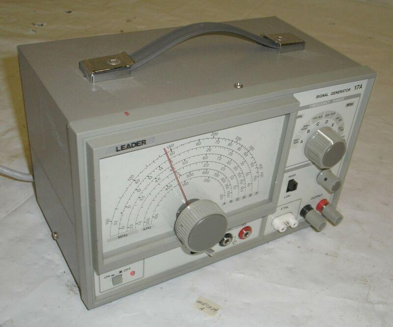 Leader 17A Signal Generator 100 kHz-150 MHz RF