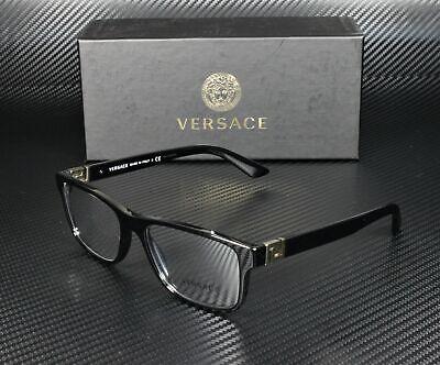 VERSACE VE3211 GB1 Black Demo Lens 55 mm Men's Eyeglasses