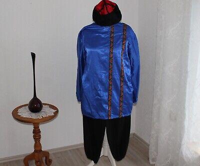 Kostüm Husar oder Kosak Gr. S/M 3 Farben Karneval Mottoparty Russland