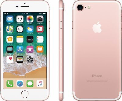***IPHONE 7 32GB ROSE GOLD FACTORY UNLOCKED! APPLE 32 GB GSM PINK BRAND NEW!***