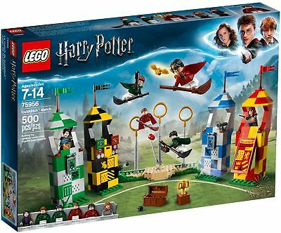 LEGO HARRY POTTER 75956 Partita di Quidditch WIZARDING WORLD LUG 2018