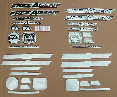 Sticker FREE AGENT FRAME STICKER PACK QUANTITY 34 pieces