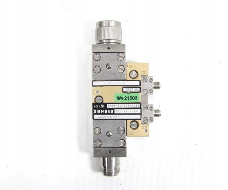 Siemens DOUBLE-WAY COUPLER 1.1-3.6GHz 20dB /#T W2D 4289