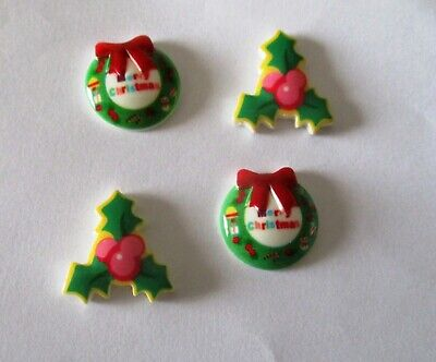 Christmas Xmas Decorations for Kids, Craft,Card-making & Decoration 10 Pcs ()