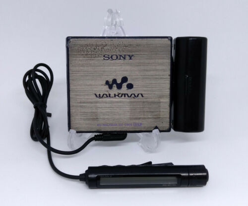 Sony Walkman MZ-E900 Portable MiniDisc MD player *Works*