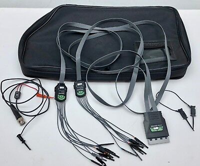 Tektronix P6410 Logic Probe W Leads And Bag Free Shipping
