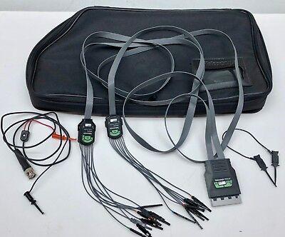 Tektronix P6410 Logic Probe W Leads And Bag Free Shipping Oscope Oscilloscope