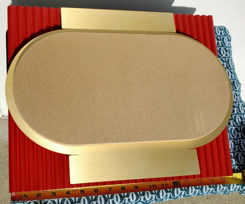 "Cartier ~ Jewelry Display Stand ☆Gold/Red☆Chinese New Year☆16.5"" x 13.25"" x 3"""