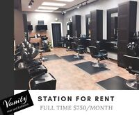 Hair Station Available for Rent!